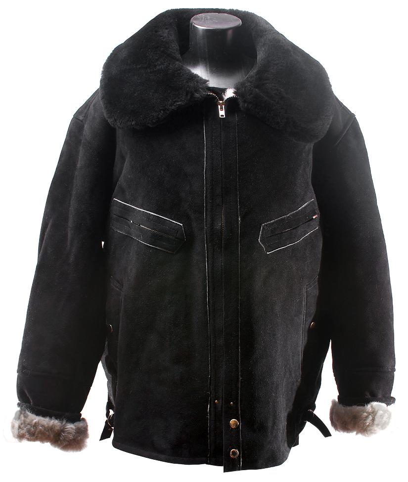 зимние мужские дубленки куртки